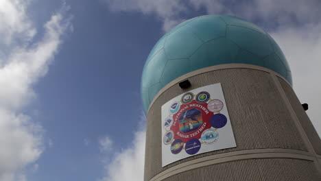 Torres-De-Radar-En-El-Banco-De-Pruebas-De-Radar-Meteorológico-Nacional-En-Norman-Oklahoma