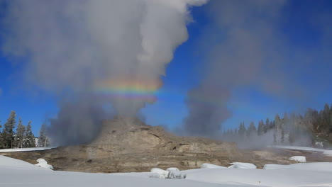A-Geothermal-Region-In-Yellowstone-National-Park-In-Winter-2