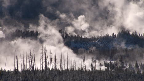 A-Geothermal-Region-In-Yellowstone-National-Park-In-Winter-5