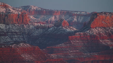 A-Shot-Of-The-Grand-Canyon-In-Winter