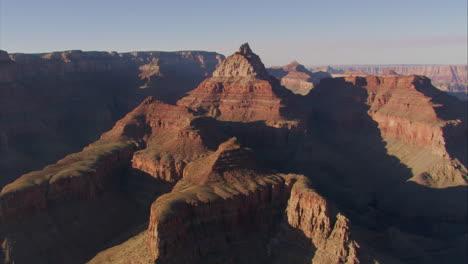 Beautiful-Aerial-Over-Grand-Canyon-At-Dawn