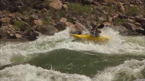 White-Water-Kayaker-Navigates-The-Grand-Canyon-1