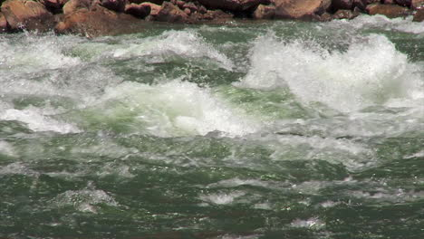White-Water-On-The-Colorado-River-In-The-Grand-Canyon