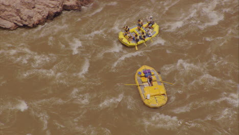 Rafters-In-The-Grand-Canyon-From-Directly-Above-1