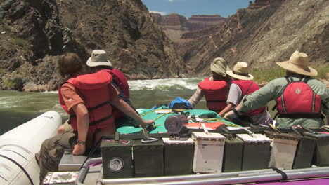 Pov-Of-White-Water-Rafters-Navigate-The-Grand-Canyon-1