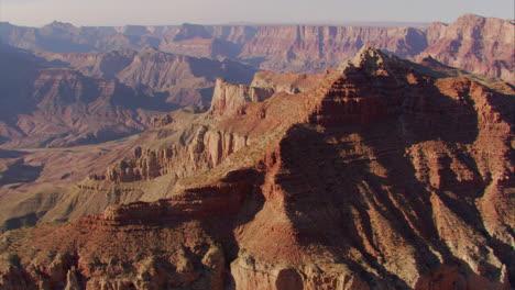 Beautiful-Aerial-Over-Grand-Canyon-Rim-At-Dawn-1