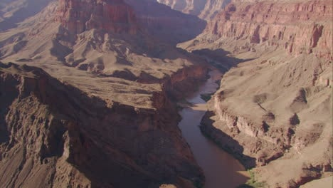 Aerial-Over-The-Colorado-River-In-The-Grand-Canyon-1