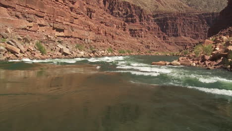 Pov-Of-White-Water-Rafting-On-The-Colorado-River-In-The-Grand-Canyon-1