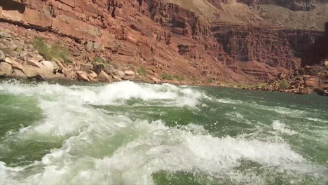 Pov-Of-White-Water-Rafting-On-The-Colorado-River-In-The-Grand-Canyon-2