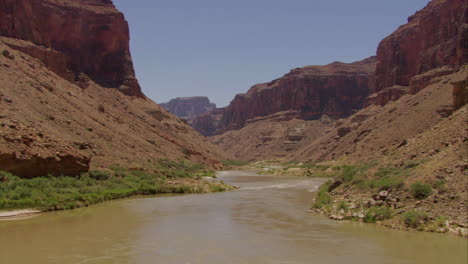 Fast-Low-Aerial-Over-The-Colorado-River-In-The-Grand-Canyon
