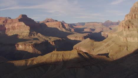 Beautiful-Aerial-Over-Grand-Canyon-Rim-At-Dawn-2