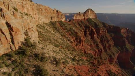 Beautiful-Aerial-Over-Grand-Canyon-Rim-At-Dawn-4