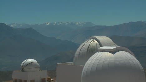 An-Observatory-On-A-Mountaintop-Day