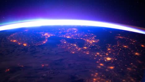 La-Estación-Espacial-Internacional-Vuela-Sobre-La-Tierra-Con-La-Aurora-Boreal-Visible-5