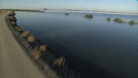 Aerials-Over-The-California-Aqueduct