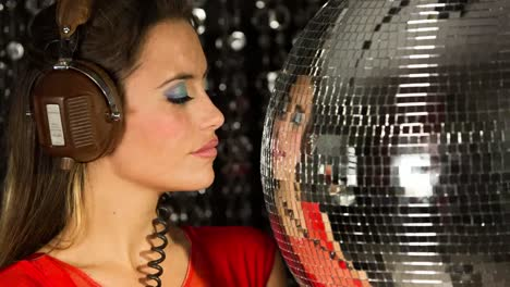 Woman-Discoball-14