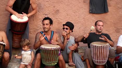 Benirras-Beach-Drummers-04
