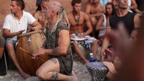 Benirras-Beach-Drummers-08