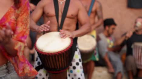 Benirras-Beach-Drummers-09