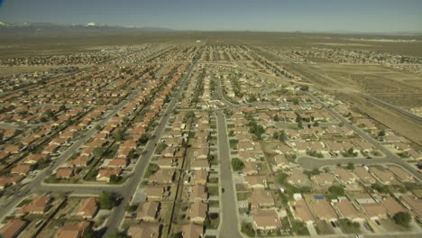 An-Aerial-Over-A-Housing-Tract-Outside-Los-Angeles
