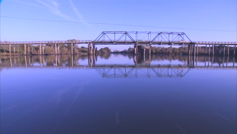 Pov-From-A-Boat-Traveling-On-The-American-Or-Sacramento-Rivers-In-The-San-Joaquin-Delta-In-California