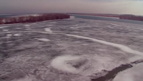 Aerials-Over-The-Canada-Us-Border-Along-The-St-Clair-River-1