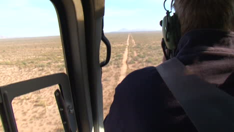 The-Us-Border-And-Customs-Protection-Patrol-The-Mexico-Border-With-Helicopters