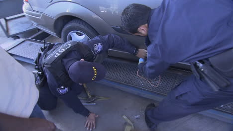 The-Us-Customs-And-Border-Protection-Discovers-Drugs-Hidden-In-Vehicles-At-The-Mexican-Border-6