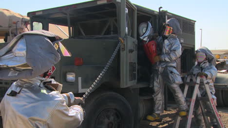 Firefighters-Perform-An-Auto-Extrication-Exercise-On-A-War-Vehicle-1