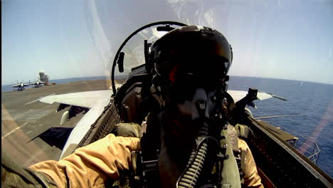 Pov-Shot-Of-A-Fighter-Jet-Taking-Off-From-An-Aircraft-Carrier-1