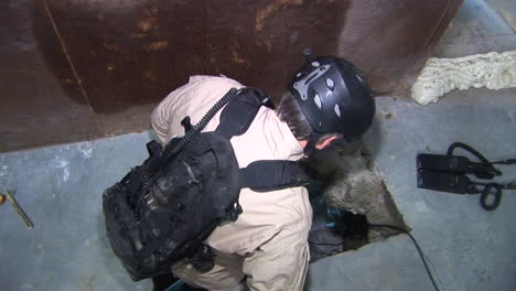Dea-Agents-Explore-Illegal-Drug-Smuggling-Tunnels-Between-The-Us-And-Mexico