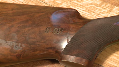 Items-Confiscated-Buy-The-Us-Military-During-The-Iraq-War-Include-Saddam-Husseins-Personal-Shotgun-Engraved-With-His-Initials