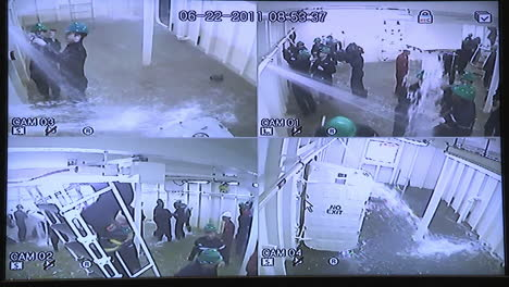 A-Remote-Camera-System-Shows-Flooding-On-A-Boat