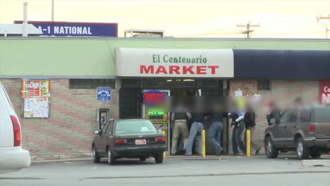Special-Agents-From-The-Us-Immigration-And-Customs-Service-Raid-A-Mexican-Mini-Mart-To-Make-Arrests