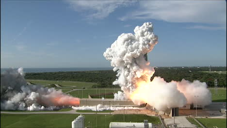 The-Nasa-Grail-Mission-Rocket-Lifts-Off-From-Launchpad