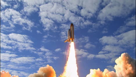 The-Space-Shuttle-Lifts-Off-From-Its-Launchpad-9