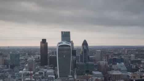 Sonnenuntergang-In-Der-Londoner-Stadt-0