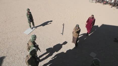 United-States-Troops-Practice-Various-Dangerous-Scenarios-In-A-Mock-Arab-Village-In-The-American-Desert-1