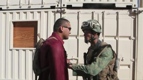United-States-Troops-Practice-Various-Dangerous-Scenarios-In-A-Mock-Arab-Village-In-The-American-Desert-5