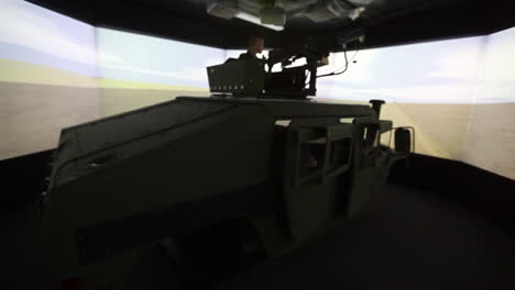 Us-And-French-Troops-Practice-Driving-In-A-Convoy-In-A-War-Simulation-Theater-6