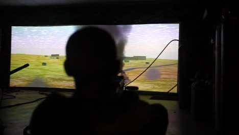 Us-And-French-Troops-Practice-Firing-Weapons-On-The-Battlefield-In-A-War-Simulation-Theater-1
