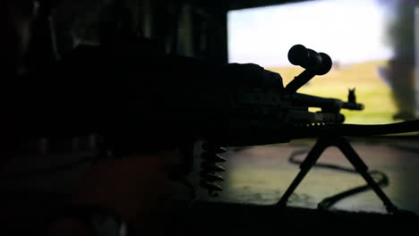 Us-And-French-Troops-Practice-Firing-Weapons-On-The-Battlefield-In-A-War-Simulation-Theater-2
