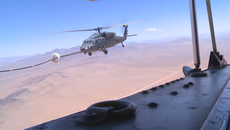 A-Helicopter-Refuels-In-Midair
