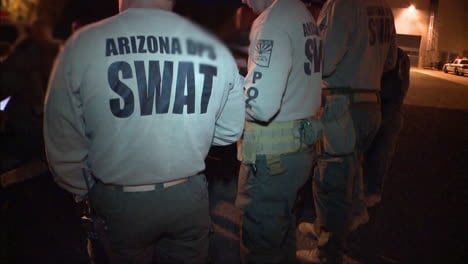 A-Swat-Team-Raids-A-Suspected-Drug-House-Using-Military-Style-Vehicles