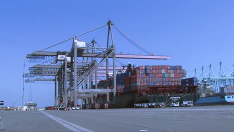 Agents-From-Us-Customs-At-The-Port-Of-Long-Beach-Search-For-Illegally-Imported-Products