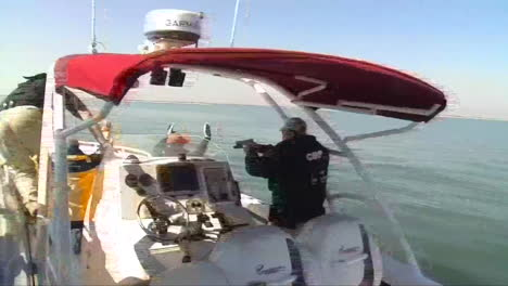 The-Us-Customs-And-Border-Protection-Apprehend-Suspected-Criminals-On-A-Speedboat-2