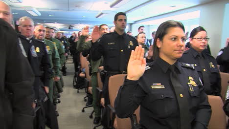 Us-Customs-And-Border-Protection-Swearing-In-Ceremony