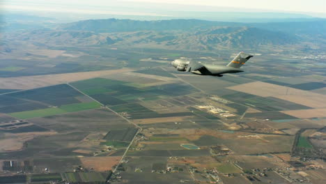 Aerials-Of-The-Us-Air-Force-Air-Mobility-Command-C17-In-Flight-5