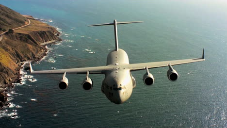Aerials-Of-The-Us-Air-Force-Air-Mobility-Command-C17-In-Flight-7