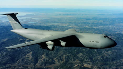 Aerials-Of-The-Us-Air-Force-Air-Mobility-Command-C5-In-Flight-1